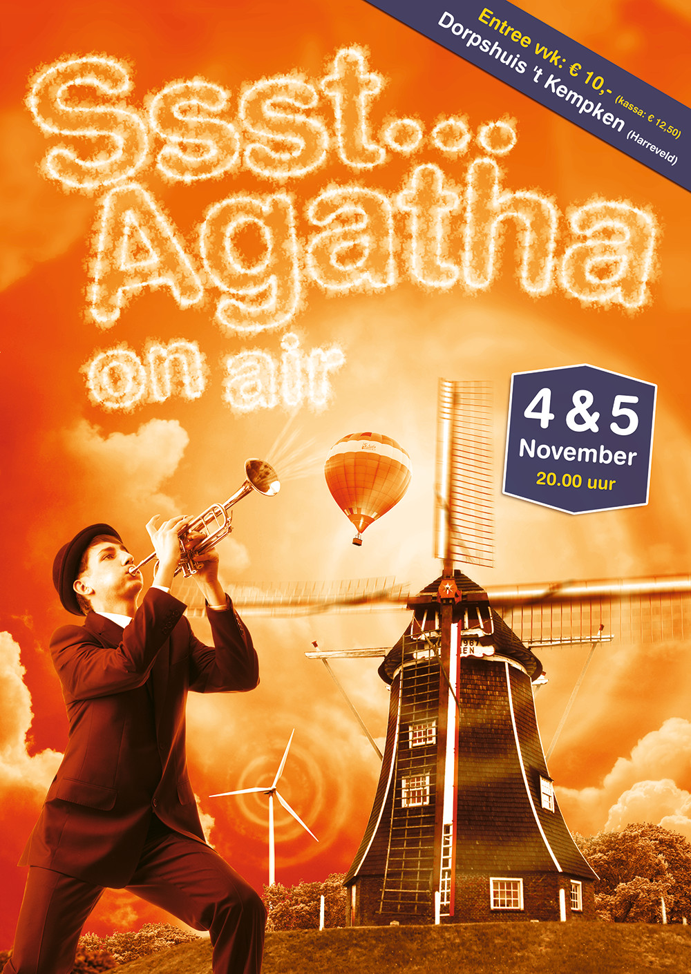 Ssst... Agatha on Air